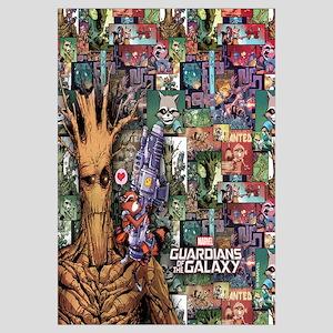 Groot Rocket Comic Wall Art