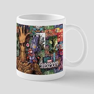 Groot Rocket Comic Mug