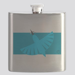 Kingfisher Flask