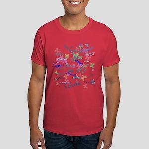Dancing with butterflies Dark T-Shirt