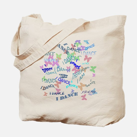 Dancing with butterflies Tote Bag