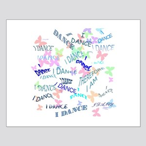 Dancing with butterflies Small Poster