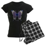 Insomnia Butterfly Women's Dark Pajamas