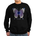 Insomnia Butterfly Sweatshirt (dark)