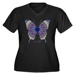 Insomnia Butterfly Plus Size T-Shirt