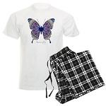 Insomnia Butterfly Men's Light Pajamas