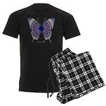 Insomnia Butterfly Men's Dark Pajamas