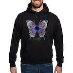 Insomnia Butterfly Hoodie (dark)