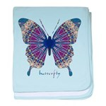 Insomnia Butterfly baby blanket