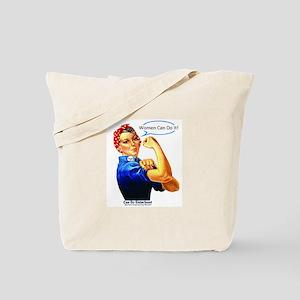 Women Can Do It Tote Bag