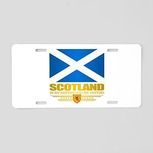 Flag of Scotland Aluminum License Plate