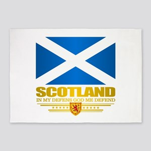 Flag of Scotland 5'x7'Area Rug