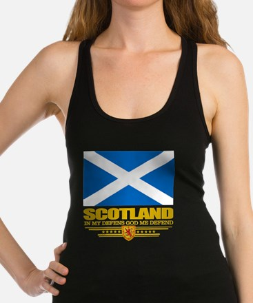 Flag of Scotland Racerback Tank Top