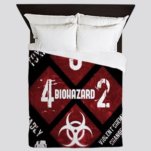 4 Biohazard 2 Queen Duvet