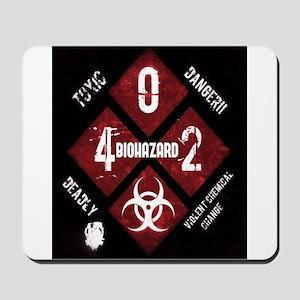 4 Biohazard 2 Mousepad