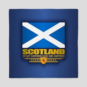 Flag of Scotland Queen Duvet