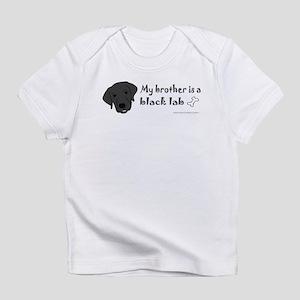 black lab Infant T-Shirt