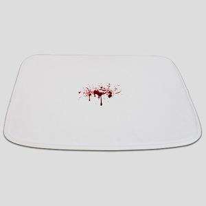 blood spatter 3 Bathmat