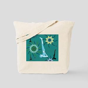 TealYoga Tote Bag