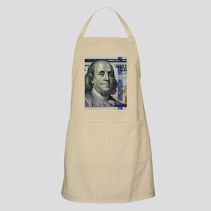 $100 Benjamin Franklin Portrait Apron