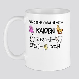 Kaiden had a Farm Mug