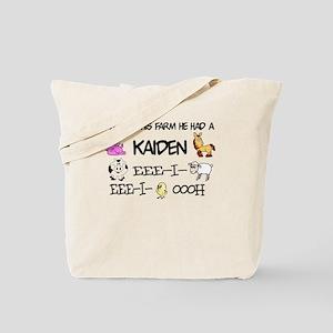 Kaiden had a Farm Tote Bag