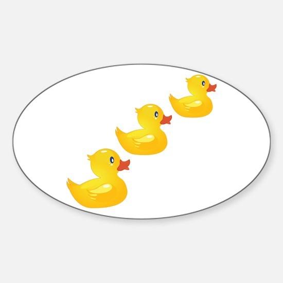 Cute Ducklings Decal