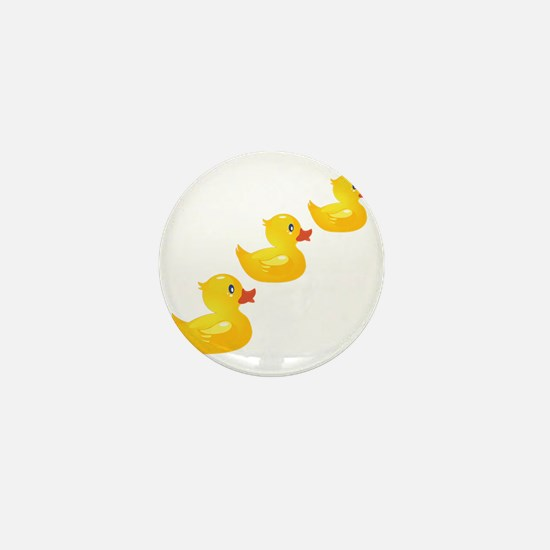 Cute Ducklings Mini Button