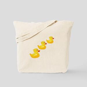 Cute Ducklings Tote Bag