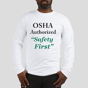 OSHA Safe Long Sleeve T-Shirt