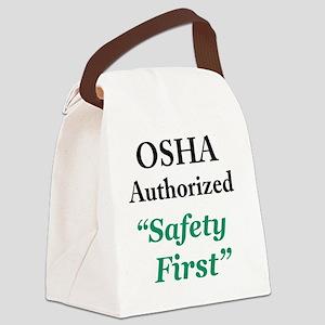 OSHA Safe Canvas Lunch Bag