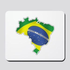 Brazilian Flag Mousepad