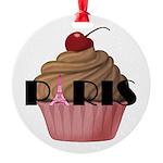 Paris Cupcake Ornament