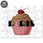 Paris Cupcake Puzzle