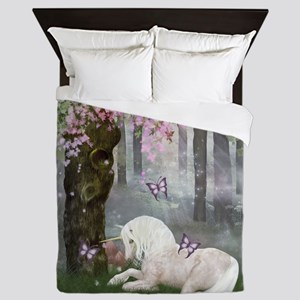 A Unicorn of Velventera Queen Duvet