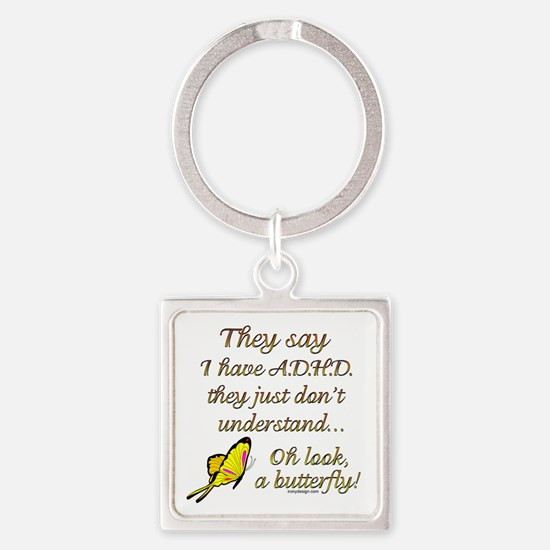 ADHD Butterfly Keychains