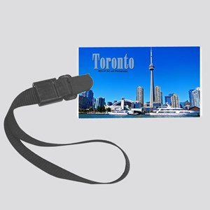 Toronto Harbor Large Luggage Tag