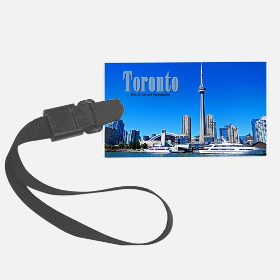 Toronto Harbor Luggage Tag