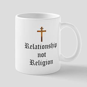 Relationship not Religion Mugs