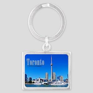 Toronto Harbor Landscape Keychain Keychains