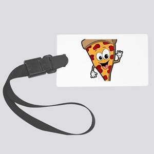 Pizza Large Luggage Tag