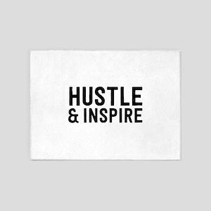 Hustle & Inspire 5'x7'Area Rug