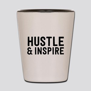 Hustle & Inspire Shot Glass