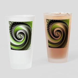 Intervolve Lime Drinking Glass