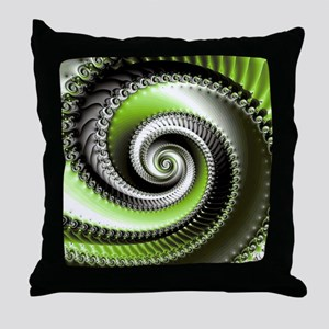 Intervolve Lime Throw Pillow