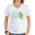 This Is How I Stroll Women's V-Neck T-Shirt
