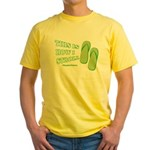 This Is How I Stroll Yellow T-Shirt