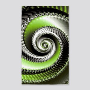 Intervolve Lime 3'x5' Area Rug
