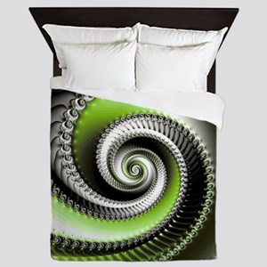 Intervolve Lime Queen Duvet