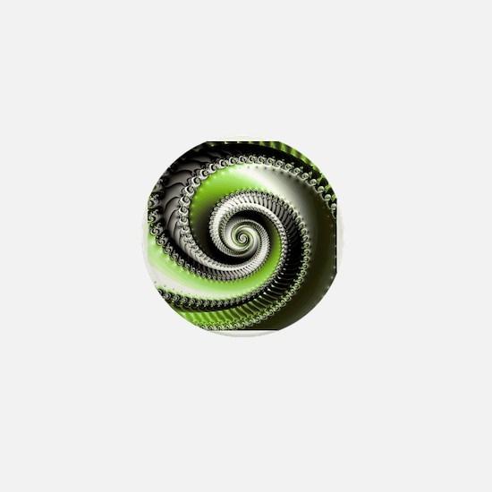 Intervolve Lime Mini Button